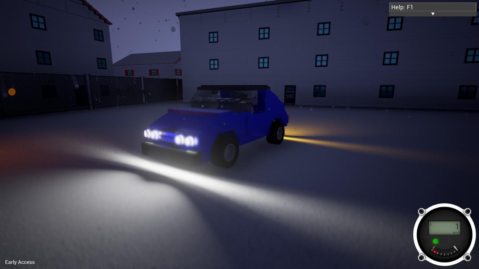 Brick Rigs (The physics based lego vehicle sandbox) | BeamNG