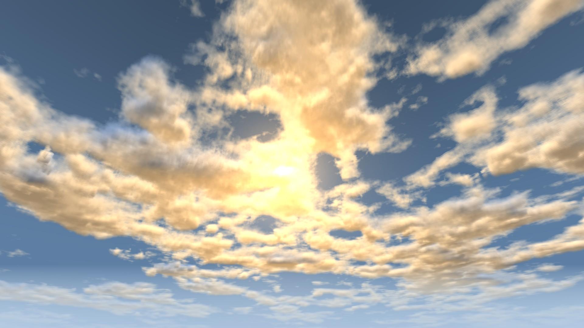 Beautiful Volumetric Clouds In Beamng | BeamNG