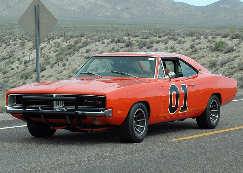 dodge charger general lee  BeamNG