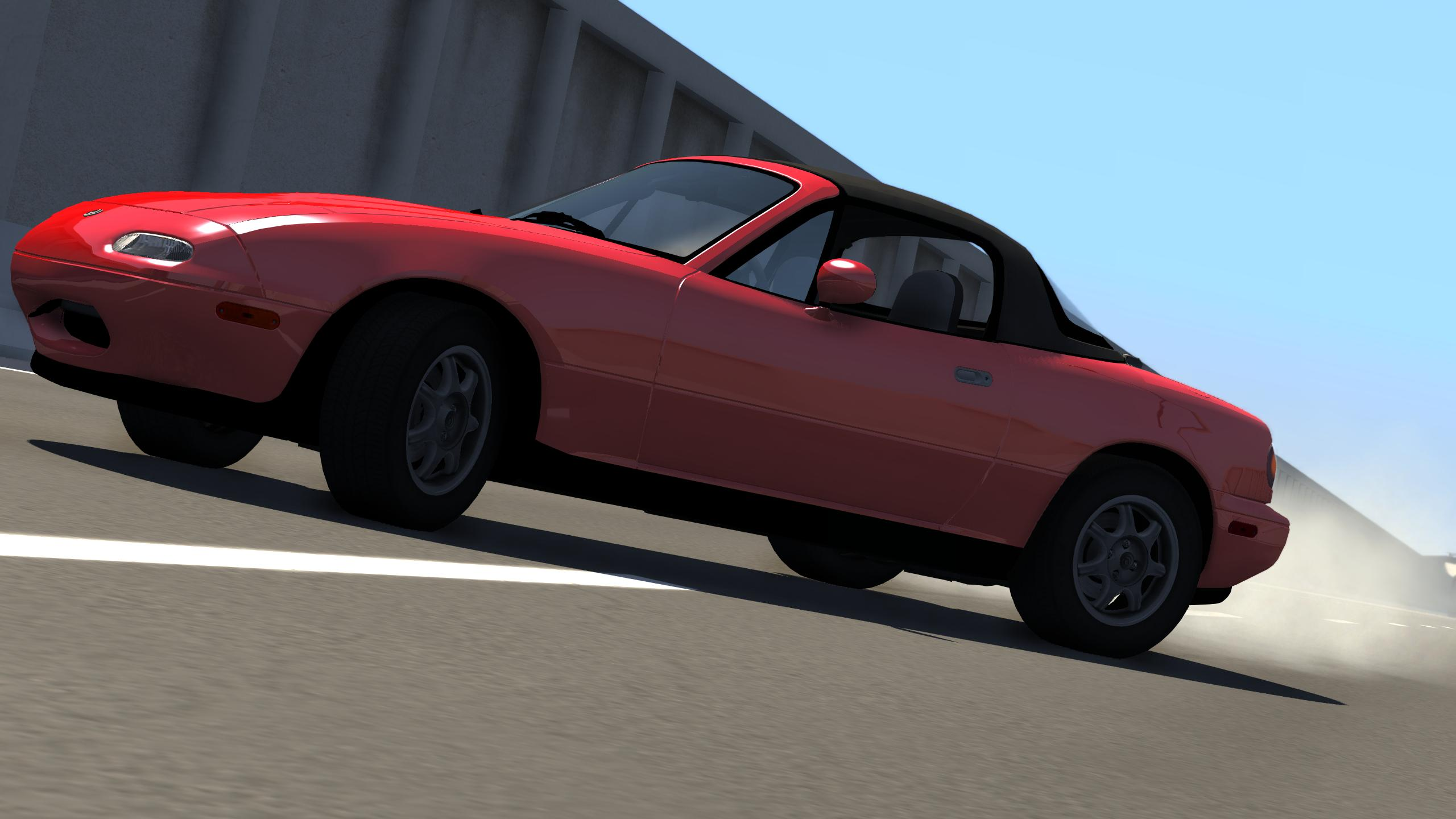Mazda MX 5 Miata 1996 - Mod Review (Video) | BeamNG