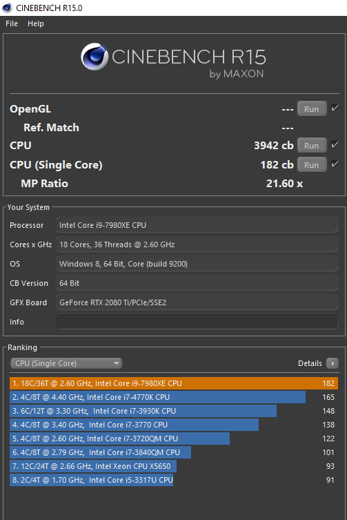 Post your Cinebench R15 scores   Page 3   BeamNG