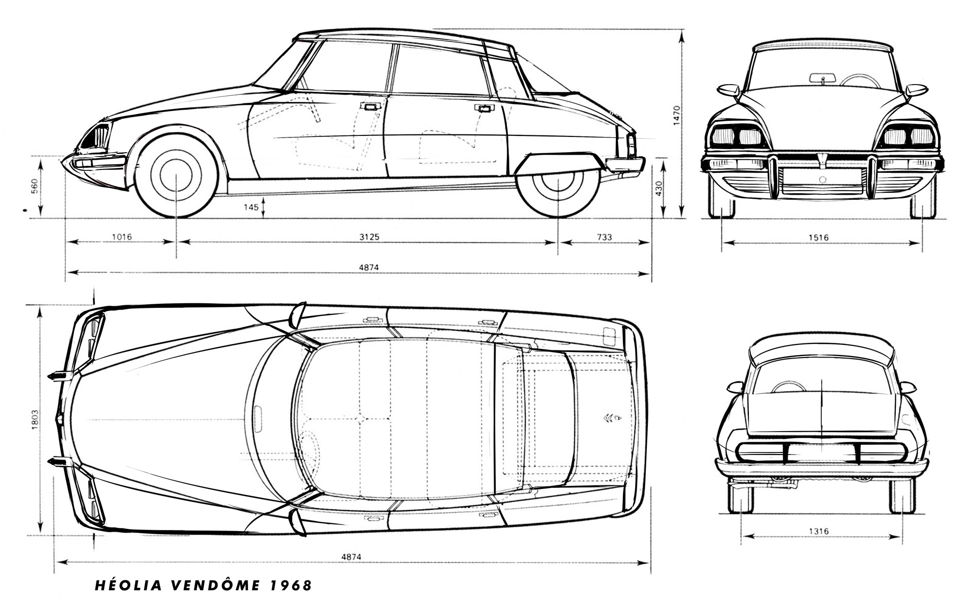 Wip heolia vendome page 13 beamng rear and front are not real blueprint views but as this is a fictional car i had room left to improvisation that is appreciable comparing to malvernweather Gallery