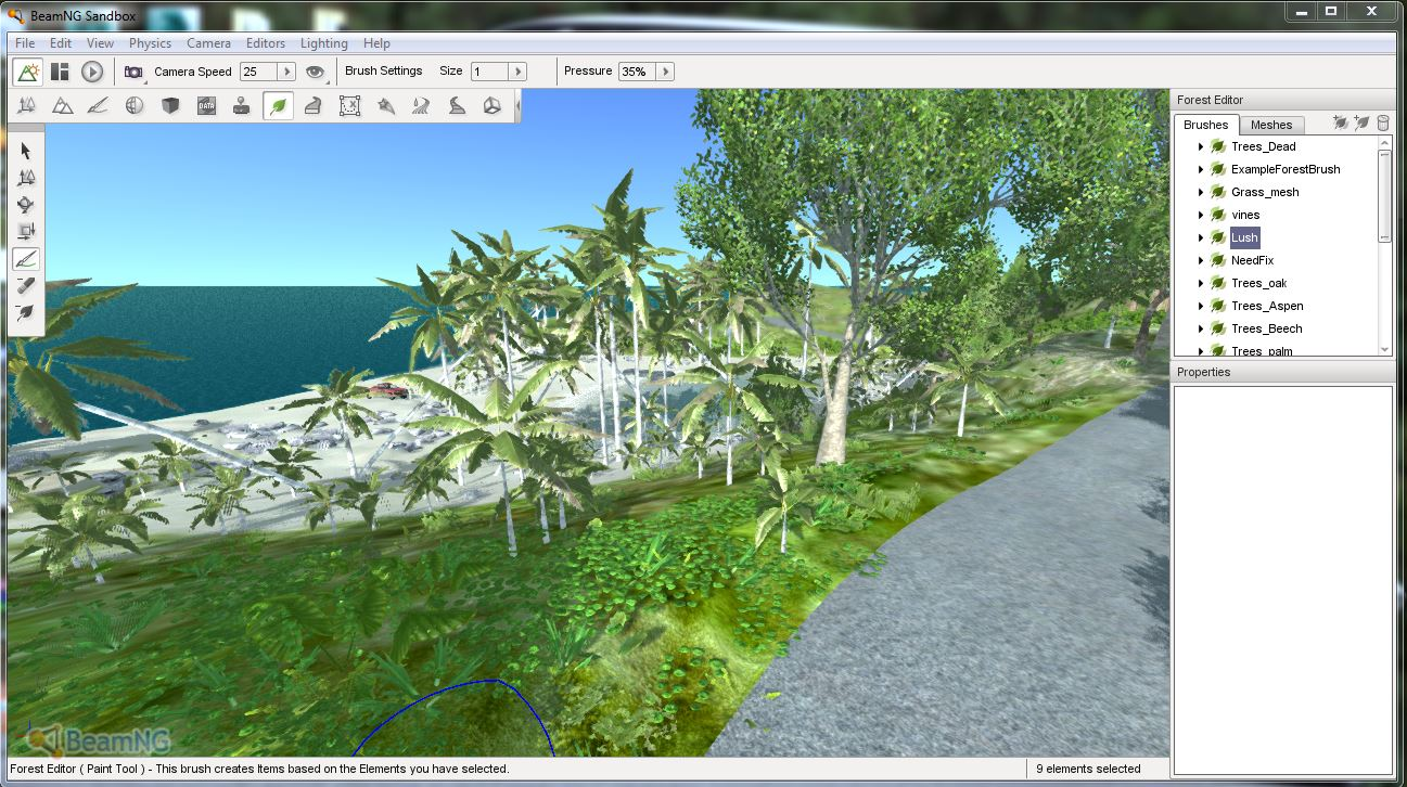 Released tutorial making a terrain for beam ng in depth guide notice how they get smaller as they go back and become mixed with oak saplings as they reach grass dont worry about placing individual items like houses gumiabroncs Images
