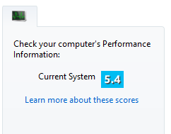 Your Score On The Windows Experience Index Beamng