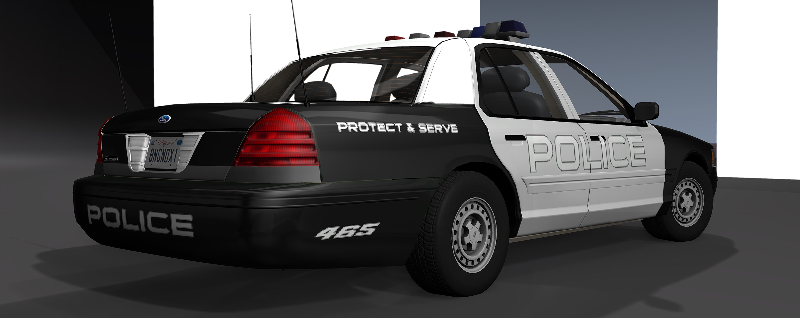 Released 1999 Ford Crown Victoria Beamng 1980 Taxi Screenshot 00010 Copy 00011