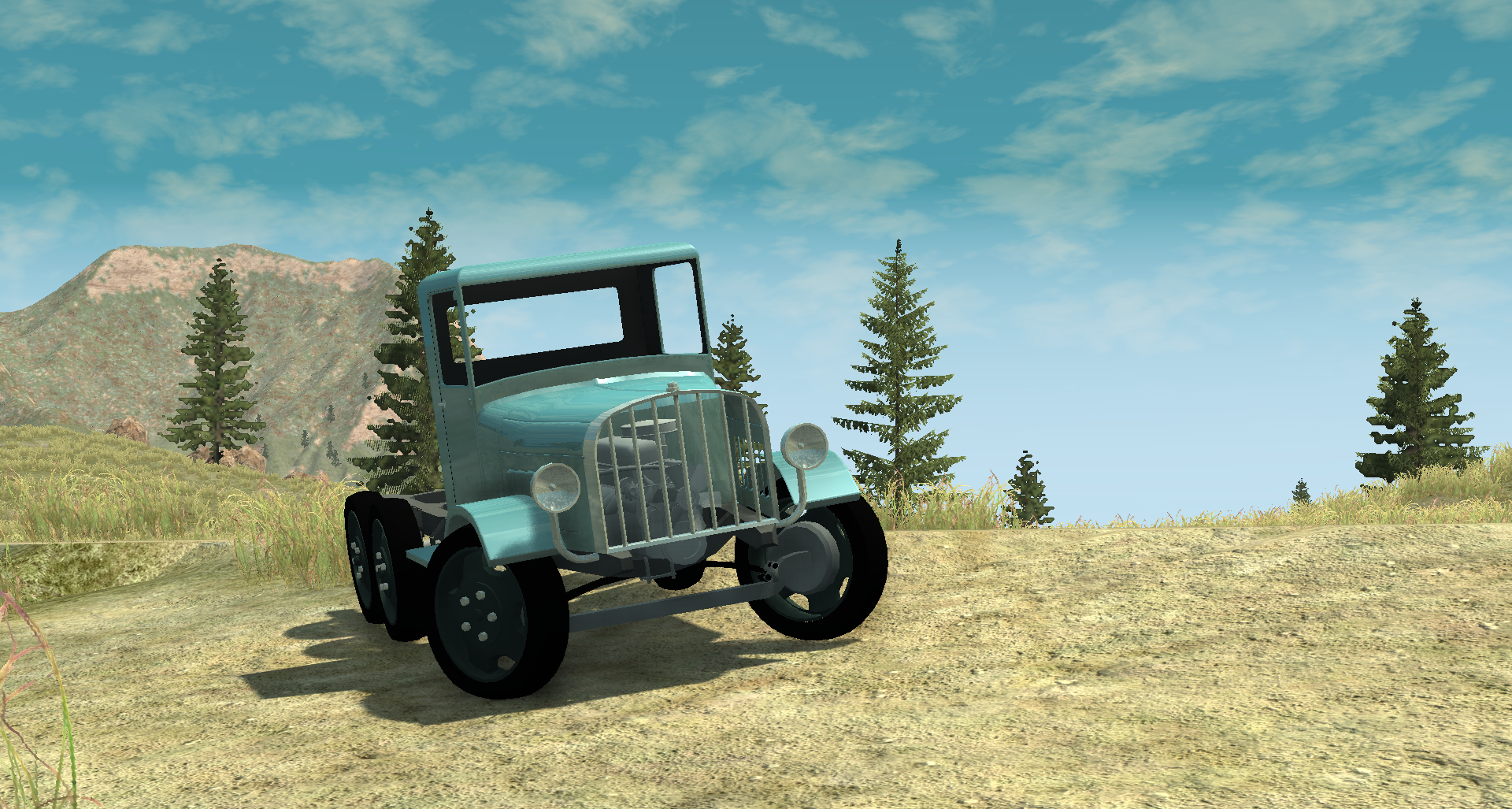 WIP - 1929 Gavril Truck Co  Model D Type 1 6 wheeled truck