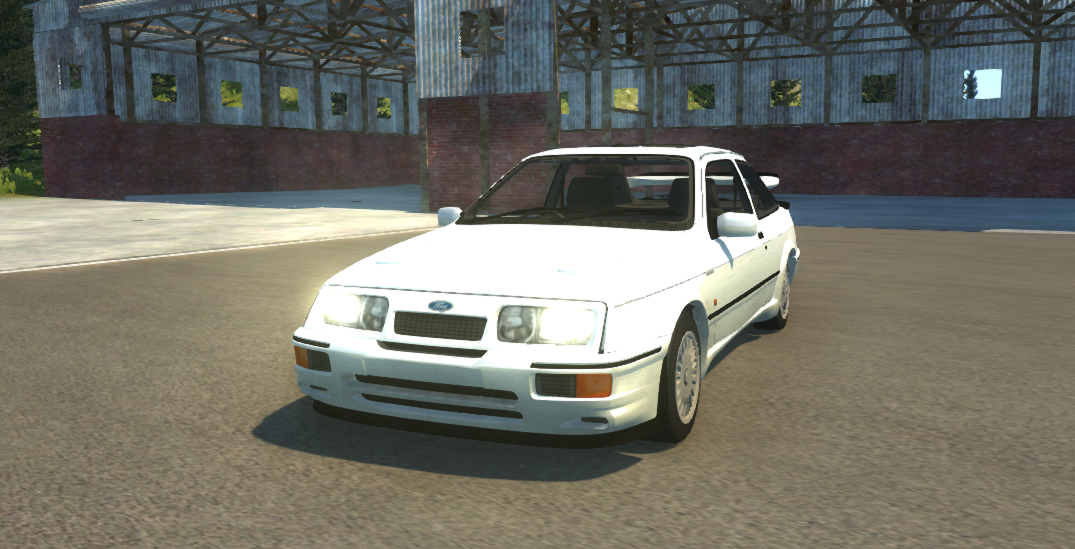 Released - Ford Sierra Cosworth RS500 | BeamNG