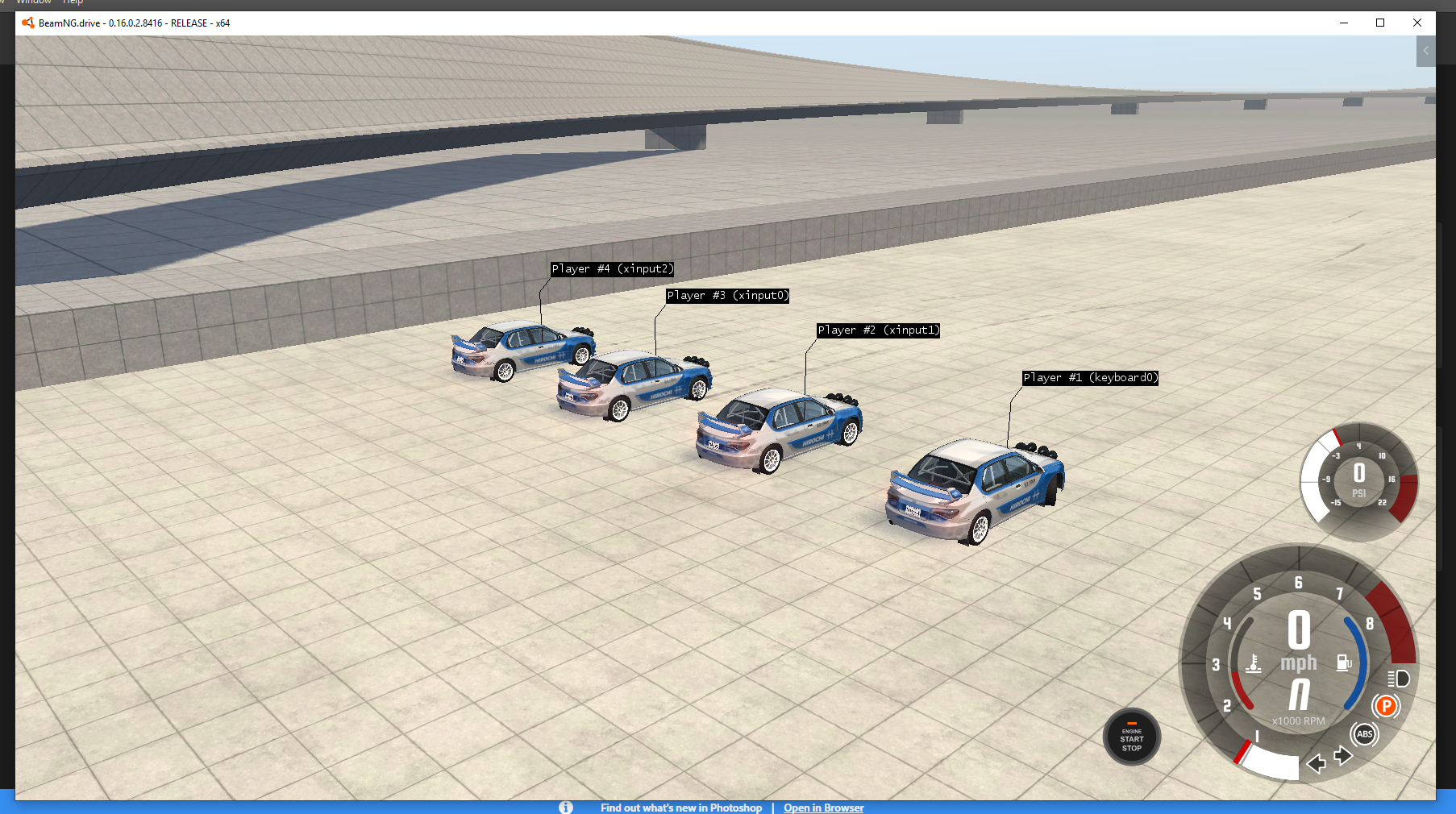 Online multiplayer test with Parsec and Multiseat