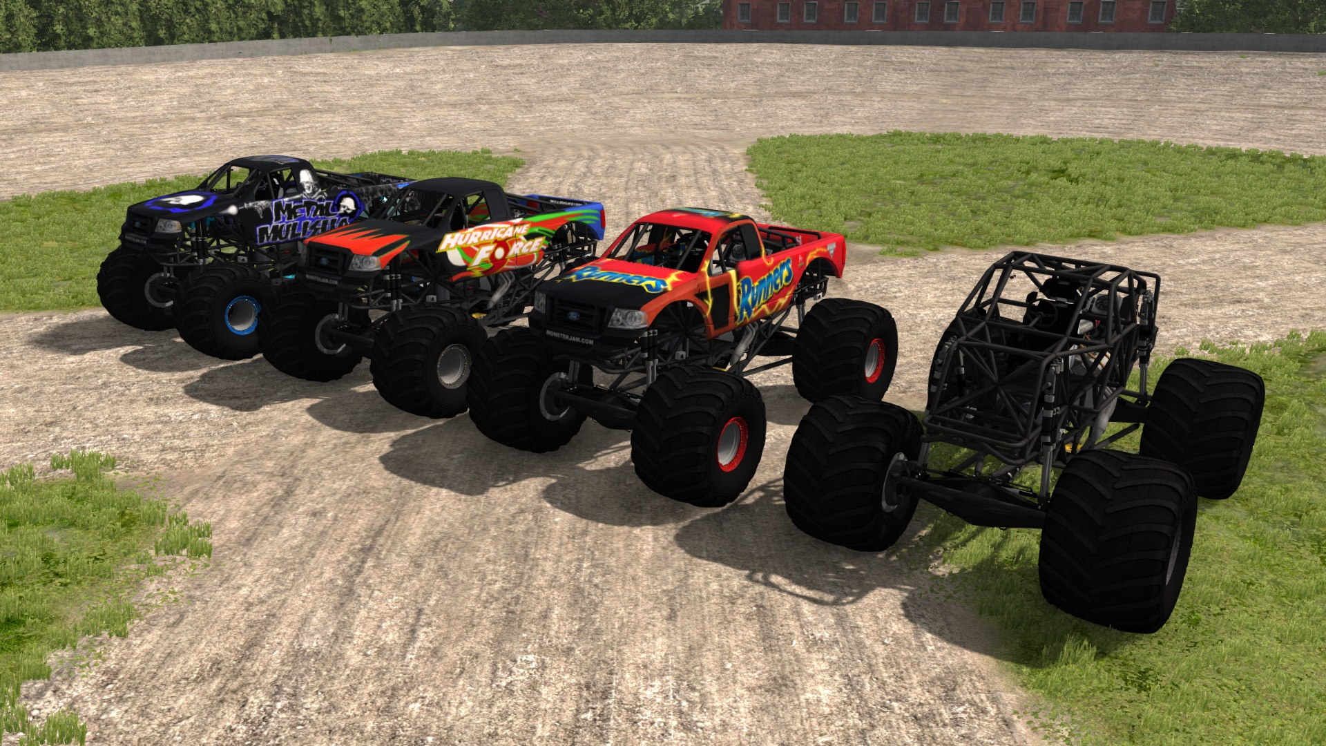 outdated crd monster truck beamng