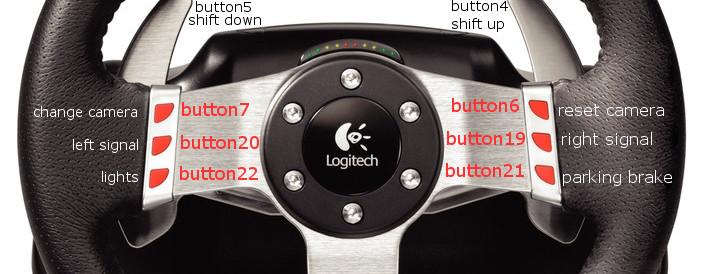 Logitech G27 Racing Wheel - FULL inputmap with descriptions | BeamNG