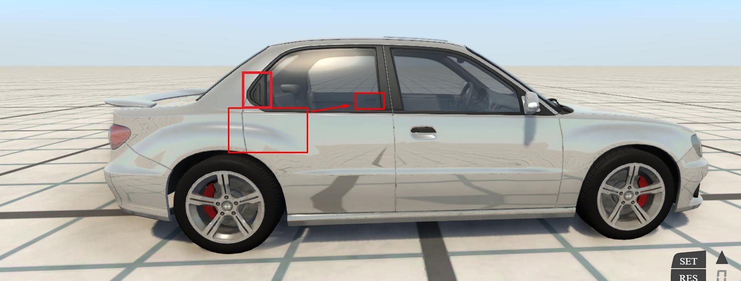 Is the Sunburst a 2-door car or a 4-door car? | BeamNG