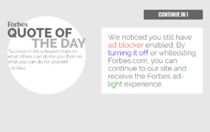 how to turn off the adblock