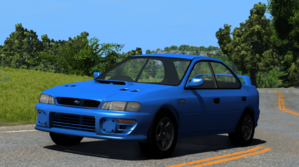 It s not like the other impreza in beamng because it has 4 doors