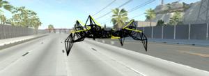 Large hexapod walker robot | BeamNG