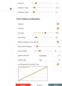 G27 no Force Feedback on zero position | BeamNG