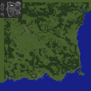 Карта dayz в майнкрафт