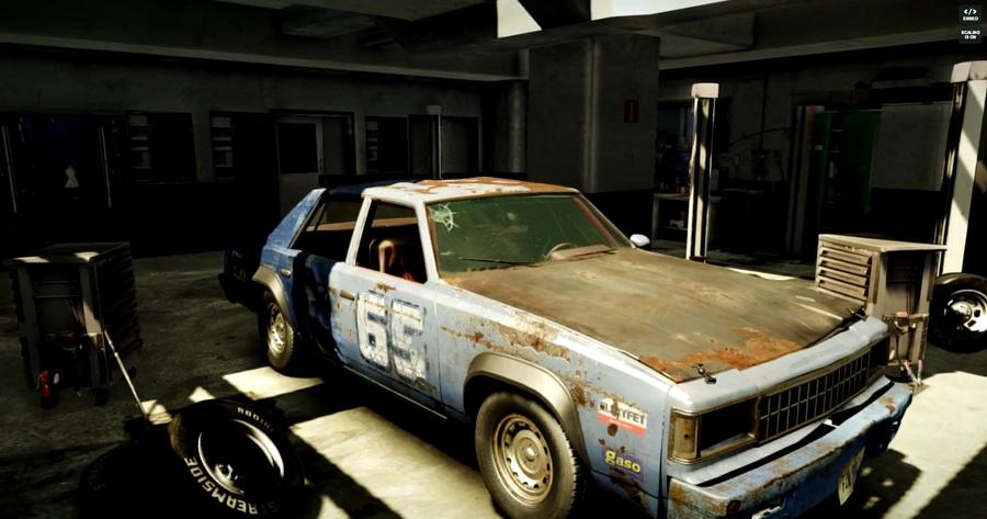 Beamng Old Car