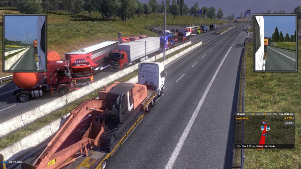 Скачать Игру Euro Truck Simulator Multiplayer 2 - фото 6