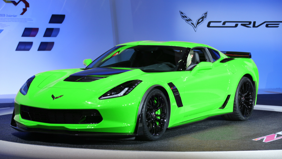 Neon Green Corvette What do you think of the 2015 corvette c7 and the